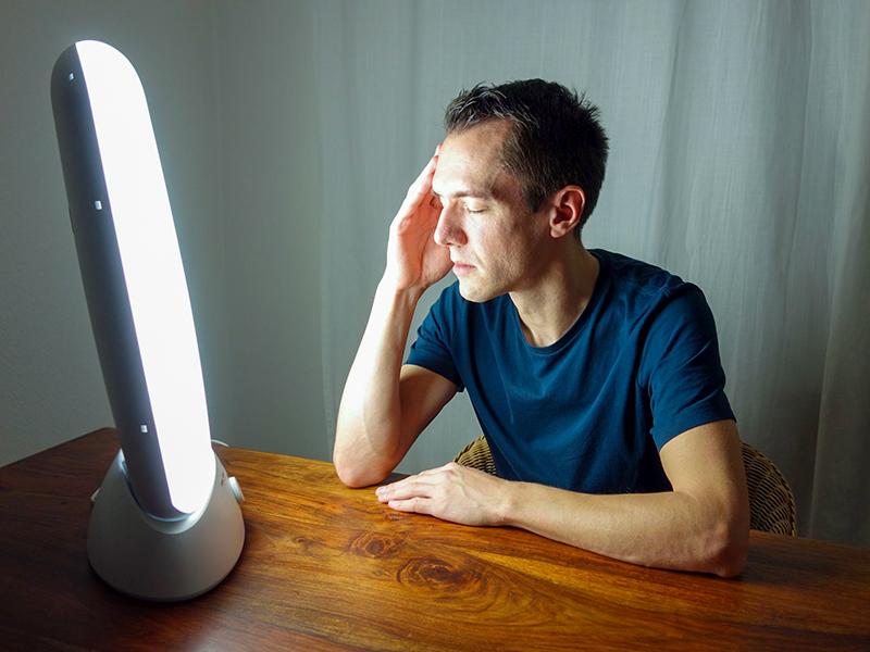 Comment se déroule une séance de luminothérapie ?